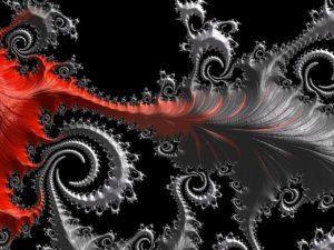 Fraktal als Beispiel für Komplexität